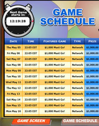 jackpot cafe mega bingo network bingo game schedule