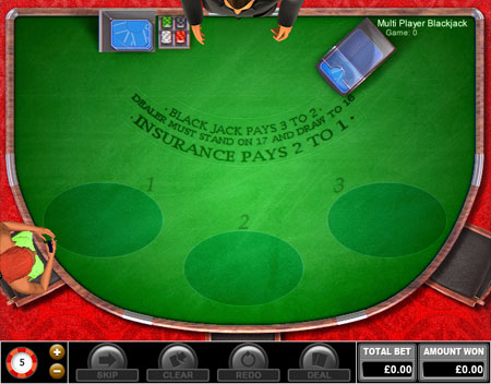 jackpot cafe multiplayer blackjack online casino game