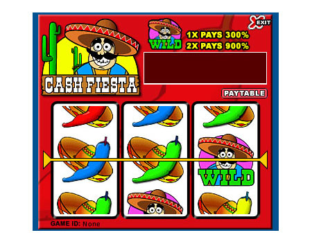 jackpot cafe cash fiesta 3 reel online slots game