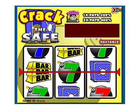jackpot cafe crack the safe 3 reel online slots game