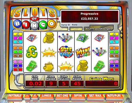 jackpot cafe slots of bingo 5 reel online slots game